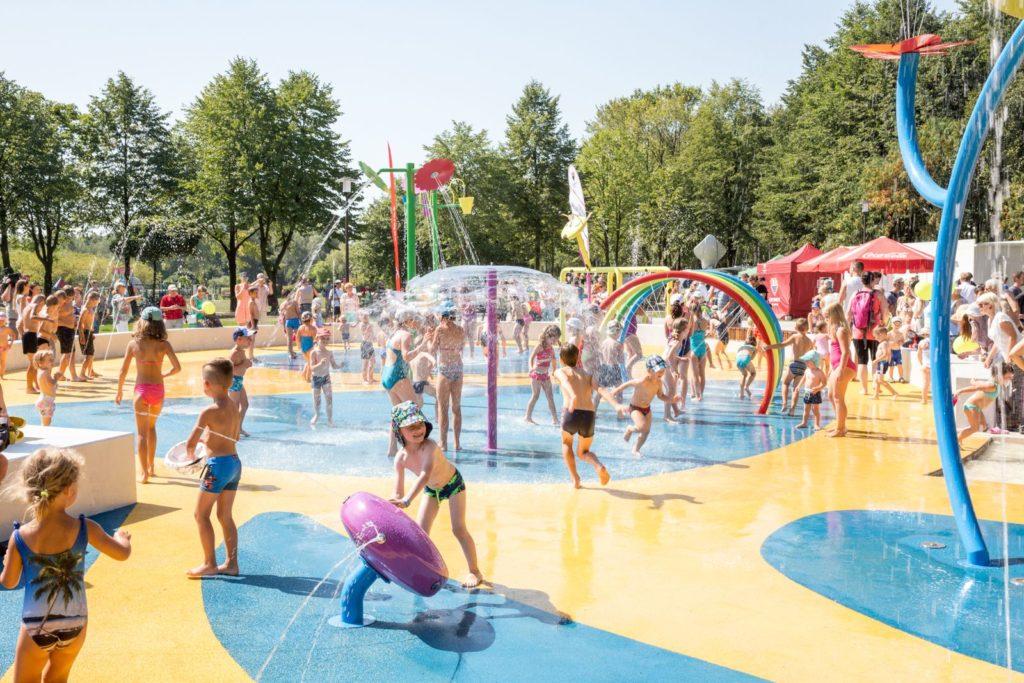 wodne place zabaw - śląsk